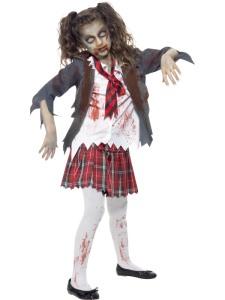 Les fiches halloween les zombies enfants location de d guisements - Deguisement halloween qui fait peur ...